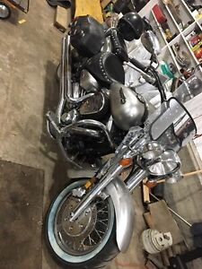 2003 Yamaha street cruiser number 6 silver addition