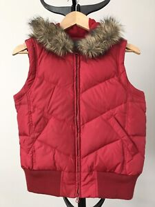 Women's Jacob Connexion Down Filled Vest in Size Small