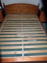 Queen Bed Frame with Free Mattress St Clair Penrith Area Preview