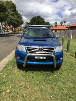 2013 Toyota hilux sr5 4x4 turbo diesel  South Granville Parramatta Area Preview