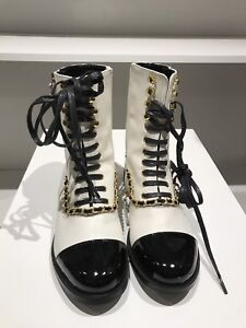 Boots-Chanel style 2017 winter collection