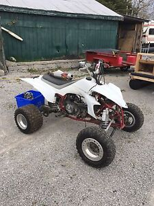 2004 Yamaha 450r race quad with blown top end.