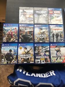 PS4 and ps3 games