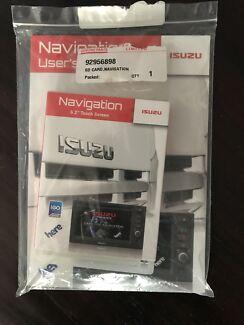 Isuzu truck navigation chip