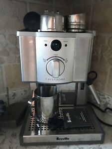 BREVILLE CAFE ROMA STAINLESS ESPRESSO MAKER