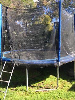 Free 12ft trampoline