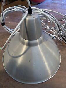 """4 Aluminum lampshades 14"""" diameter ALL $30"""