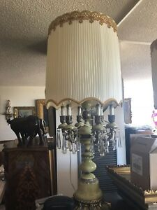 Two antique lamp