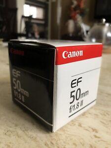 Canon EF 50mm f/1.8 ll