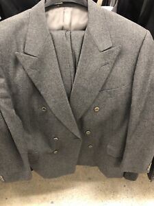 GREY CANALI CASHMERE SUIT FROM HOLT RENFREW