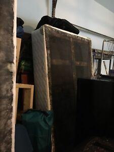 Bed box, futon, mattress for sale
