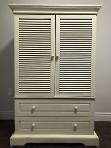 FOR SALE: Armoire and Matching Nightstand