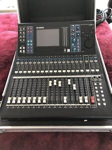 Yamaha LS9-16 with road case and Adat MY16-AT ( digital mixer)