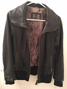 Mackage by Aritzia Leather Jacket / Medium