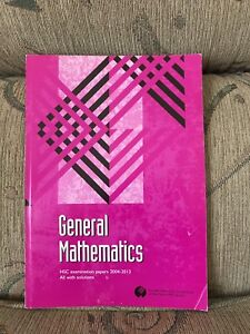 General Mathematics HSC Past Papers. *****2013. All with Solutions. Marayong Blacktown Area Preview