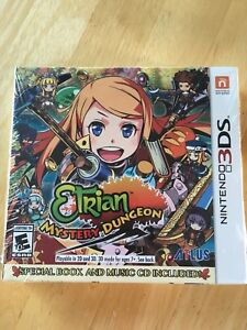 Etrian Mystery Dungeon 3ds BRAND NEW