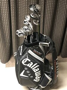 Golf Clubs - Callaway X20 Tour Irons, Hybrids, Driver & Tour Bag