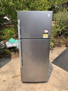 Dawoo 400L stainless steel fridge new like