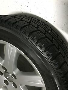 Winter tires on rims for Audi or VW