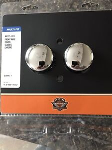 Front Axel chrome cover pour FLH Harley