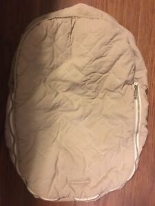 Baby car seat cover - for winter
