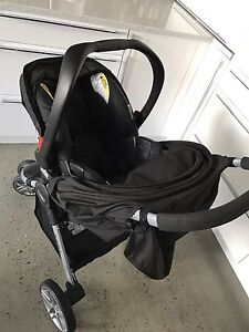 Britax Agile Travel System (Base, Carseat, Stroller-Like New)