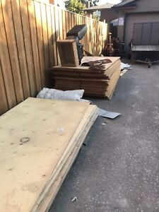 Plywood 3/8, 5/8 t&g and 3/4 t&g