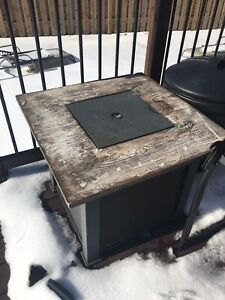 Fire Pit Table Used