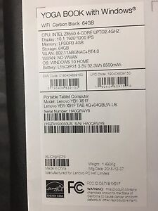 Lenovo Yoga Book with Windows - Brand new and sealed