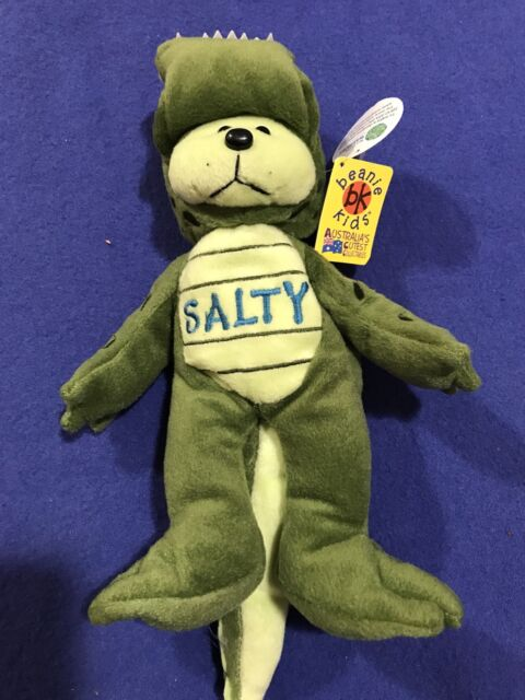 Beanie Kid - Salty the Crocodile Bear  8b3b5ca63ac