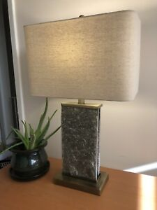 Very High Quality Slate Lamp Set