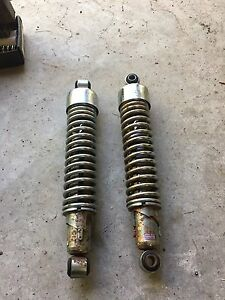 Original Harley-Davidson rear shocks