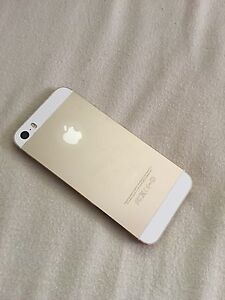 White and gold iPhone 5s