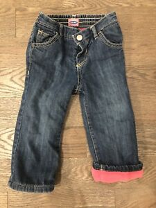 Fleece lined jeans (size 18-24 months)