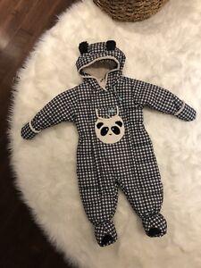 Manteau d'hiver une pièce pour bébé 18 M