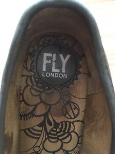 FLY LONDON FEMME POINTURE 39 usagée used women SHOES CHAUSSURES