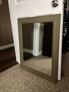 Rustic style mirror
