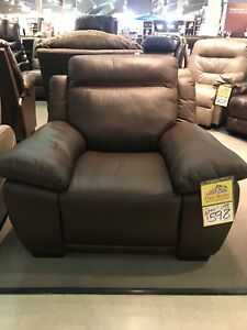 Natuzzi Edition Genuine Leather Chair
