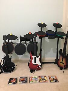 Ps3 Guitar Hero bundle Fletcher Newcastle Area Preview