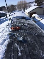 Snow removal driveway, roof?