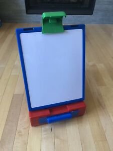 Table Top Easel Whiteboard Chalkboard Travel Size Storage Drawer