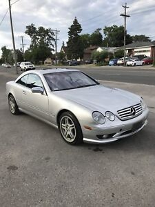 Mercedes Benz CL500 AMG sport package