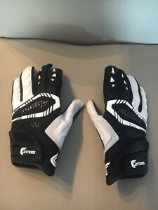 CUTTERS Padded Football Gloves Size Small