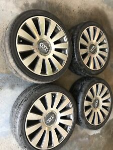 """18"""" audi mags with tires"""