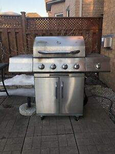 Stainless steel natural  gas grill BBQ