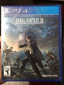 Final Fantasy XV Day One edition for PS4 (sealed)