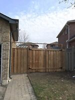 Fallen fence posts ? Call us today !! New builds, repairs