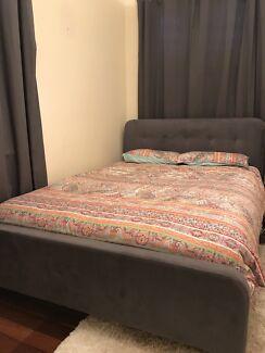 Queen bed from Harvey Norman