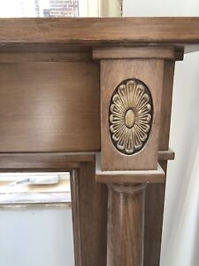 Fireplace mantel  antique style