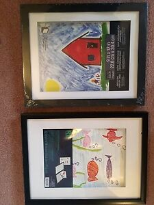 2 Kid's picture Display Frames